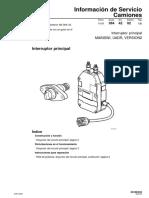Is.36. Interruptor Principal UADR. Edicion 2
