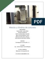 Mezcla y cilindros de concreto resistencia 350 revenimiento 20 cm.docx