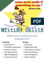 Writing Skillls