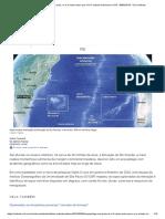 Arquipélago Com Praia, Rio e 3 Vezes Maior Que o RJ é Achado Submerso No RS - 08-09-2019 - UOL Notícias