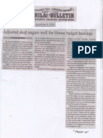 Manila Bulletin, Sept. 9, 2019, Adjusted sked augurs well for House budget hearings.pdf