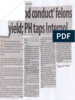 Manila Standard, Sept. 9, 2019, 76 good conduct felons yield PH taps Interpol.pdf