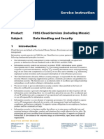 Data Handling and Security