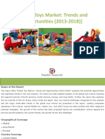 184125762 Global Toys Market Trends and Opportunities 2013 2018