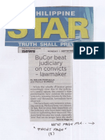 Philippine Star, Sept. 9, 2019, BuCor beat judiciary on convicts-lawmaker.pdf