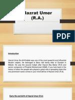 Hazrat Umer (R.pptx