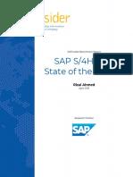 SAP S/4 insider report