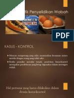 Studi Analitik Penyelidikan Wabah