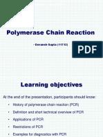 Pcr Bio Practical