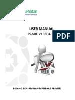 User Manual Pcare Eclaim External