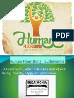 human flourishing and good life