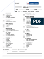Vehicle Inspection Cklist