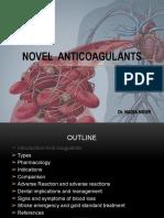 Oral Anticoagulants 7777
