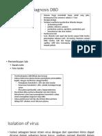 Penegakkan Diagnosis DBD