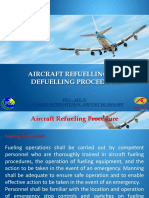 Aircraft Refuelling and Defuelling Procedures