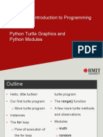 w3 Turtle Graphics and Python Modules