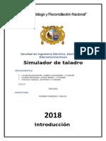 SIMULADOR DE TALADRO