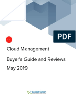 Cloud Management Buyer's guide 2019