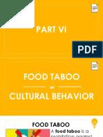 Food Taboo as a Cultural Behavior.ppt
