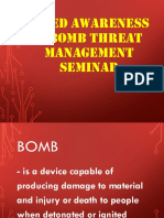 IED and Bomb Threat Awareness