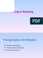 Pricing in Retail