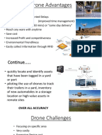 Drone's advantages and Challenges
