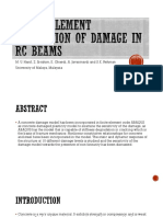 Finite Element Simulation of Damage in Rc Beams