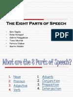 The Eight Parts of Speech- Final PP