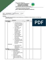 Administering Ophthalmic Instillations Checklist