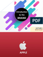 Brand Management Lecture 1