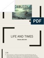 Debussy Eduqas A-Level Teacher Notes in Presentation