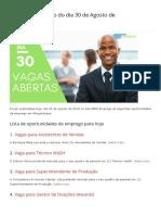 Vagas de emprego do dia 30 de Agosto de 2019 (120 VAGAS) - MMO.pdf