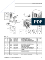 Exploded View Parts List(Map)