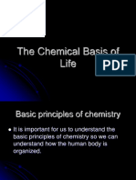 Chemical Basis of Life
