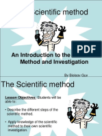 Scientific Method Presentation