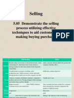 Basic Selling Techniques
