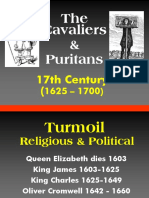 17th Century - Cavaliers & Puritans