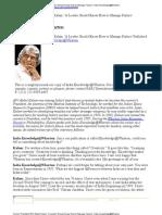 Dr APJ Abdul Kalam's Interview