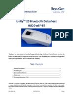 Unity 20 Bluetooth Datasheet SG1 1021B 001