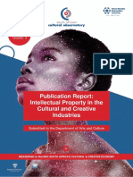 Publication Report - Intellectual Property in the Cultural and Creative Industries (1)