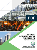 Energy Conservation Guidelines for Industries