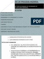 Management of Process Hazards (Hazop)
