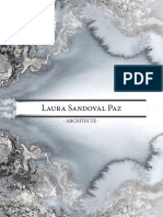 Book professionnel. Architecte Laura Sandoval Paz.