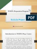 TOEFL Preparation Presentation