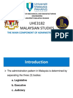 The main compenent of administration  system