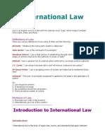 I Law & Intro