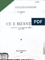 Ce e Bizantul