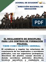 ORDEN REGLAMENTO DISCIPLINA 2019