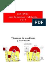 Trituracion y Molienda equipos 2017