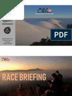 MSC Race Briefing
